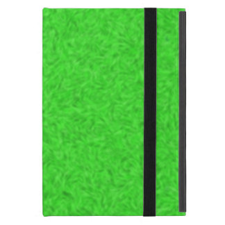 Green abstract pattern iPad mini case
