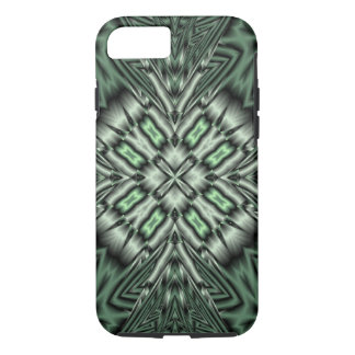Green abstract pattern iPhone 8/7 case