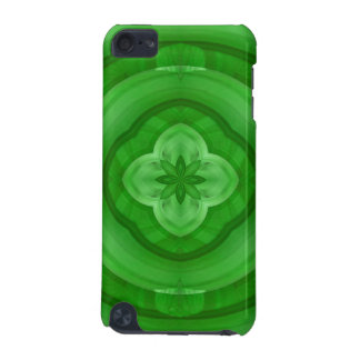 Green abstract pattern iPod touch (5th generation) cases