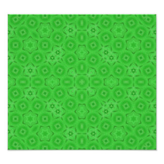 Green abstract pattern photograph