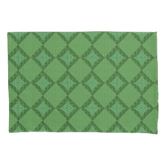 Green Abstract Pattern Pillowcase