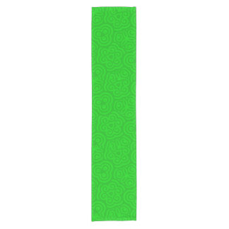 Green Abstract Pattern Short Table Runner