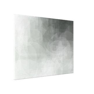 Green Abstract Shapes Print 28 x 20
