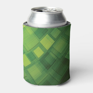 Green abstract technology design can cooler