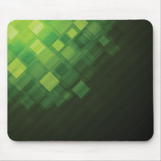 Green abstract technology design mouse pad