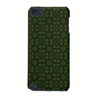 Green abstract wood iPod touch 5G covers