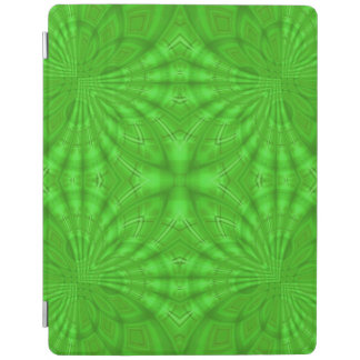 Green Abstract wood Pattern iPad Cover
