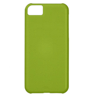 Green abstract wood pattern iPhone 5C case