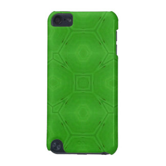 Green abstract wood Pattern iPod Touch (5th Generation) Cover