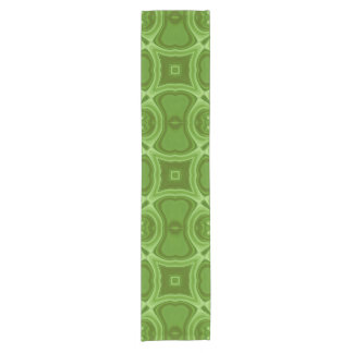 Green abstract wood pattern.jpg short table runner
