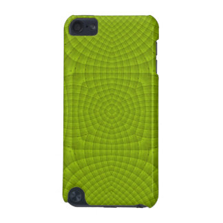 Green abstract wood pern iPod touch 5G cover