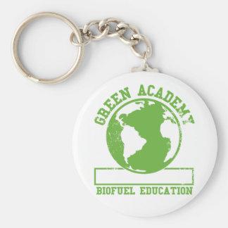 Green Academy Biofuel Keychain