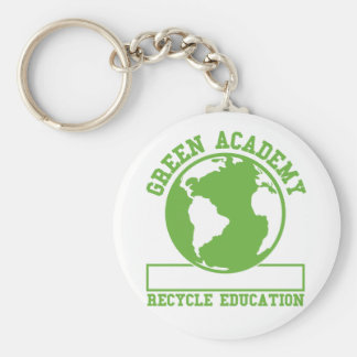 Green Academy Recycle Keychain