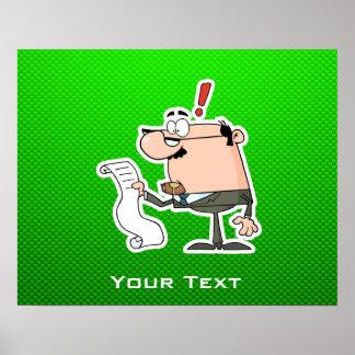 Green Accountant Print