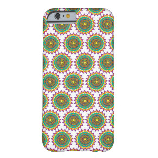 Green Ajrak Pattern iPhone 6 Case / Skin Barely There iPhone 6 Case