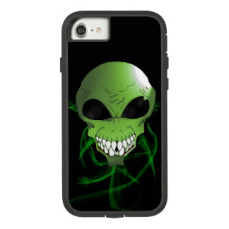Green alien Apple iPhone 8/7, Tough Phone Case