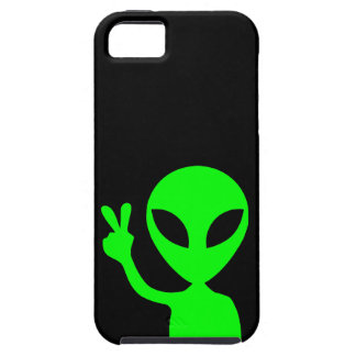 Green Alien iPhone 5 Cover