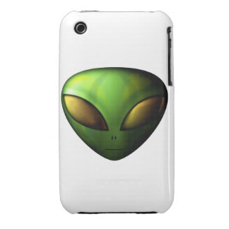 Green Alien iPhone 3 Case
