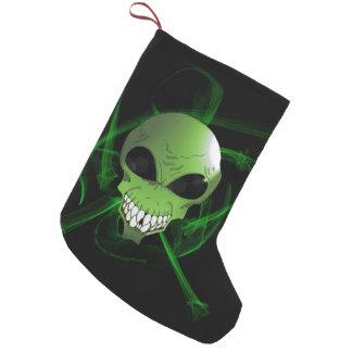 Green alien Custom Christmas Stocking