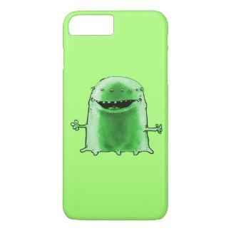 green alien funny cartoon iPhone 8 plus/7 plus case