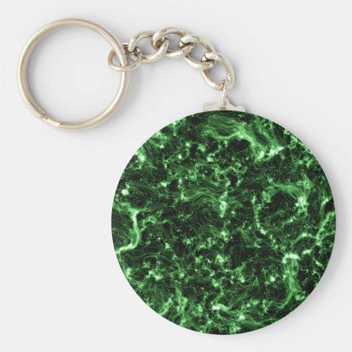 GREEN ALIEN GALAXY UNIVERSE PHENOMENA NEBULA STARS KEY CHAINS
