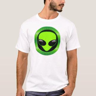 GREEN ALIEN HEAD T-Shirt