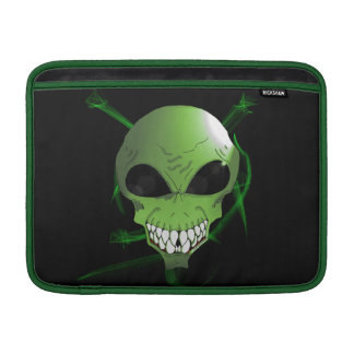 Green alien Macbook or ipad sleeve