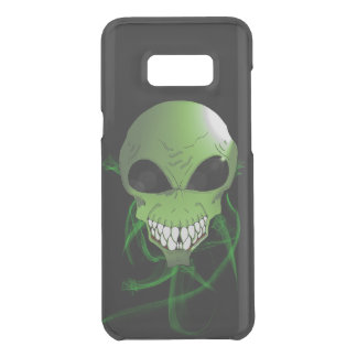 Green alien Samsung Galaxy S8+ Clearly Case