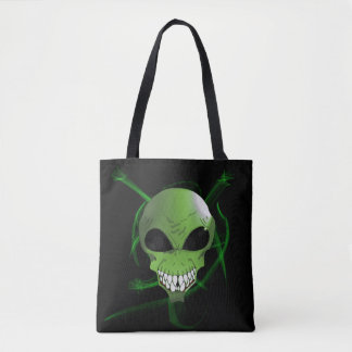 Green Alien Tote bag