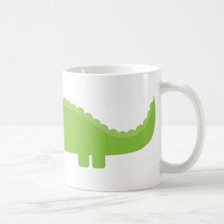 Green Alligator Coffee Mug