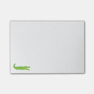 Green Alligator Post-it Notes