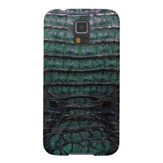 Green Alligator Skin Print Galaxy S5 Covers