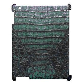 Green Alligator Skin Print mini iPad Case