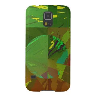 Green Amazon Abstract Galaxy S5 Case