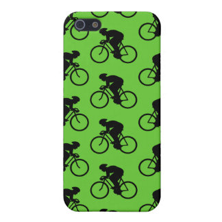 Green and Black Bicycle Pern. iPhone 5/5S Case