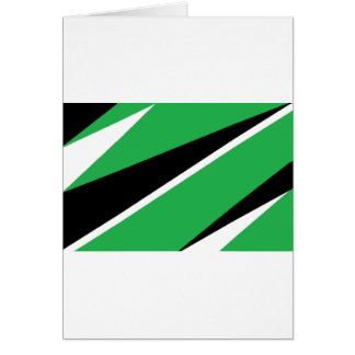 GREEN AND BLACK CARDS
