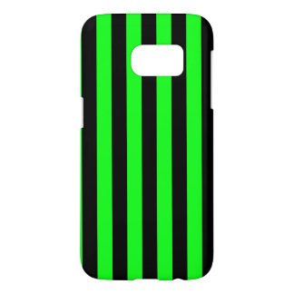 Green and Black Coloured striped pattern