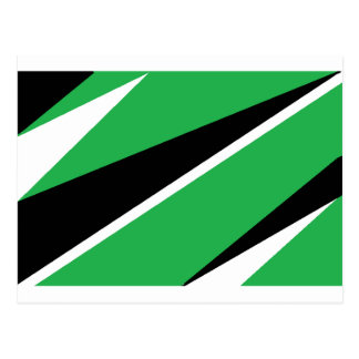 GREEN AND BLACK POST CARDS