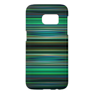 Green and black striped pattern