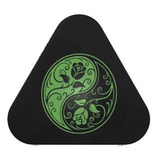 Green and Black Yin Yang Roses