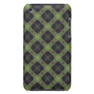 Green and Blue Diamond Pattern Barely There iPod Cover