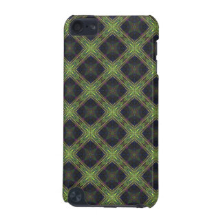 Green and Blue Diamond Pattern iPod Touch (5th Generation) Cases