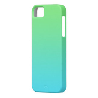 Green and Blue Gradient iPhone 5 Cover