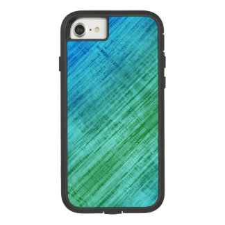 Green And Blue Gradient Texture Pattern Case-Mate Tough Extreme iPhone 8/7 Case