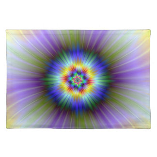 Green and Blue Star Placemats