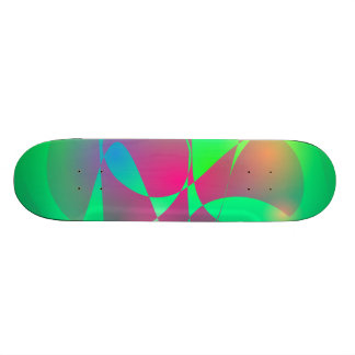 Green and Dark Pink Skate Boards