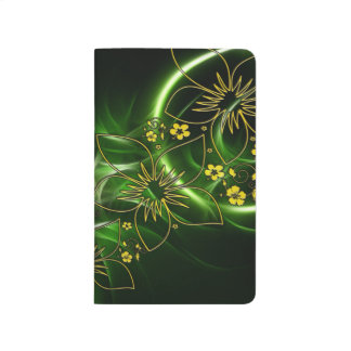 Green and Gold Journal School Supplies Lined Paper