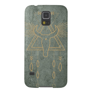 Green and Gold Southwest inspired Samsung S5 case
