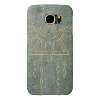 Green and Gold Southwest inspired Samsung S6 case