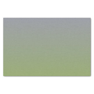 """Green and Grey Gradient Colors 10"""" X 15"""" Tissue Paper"""